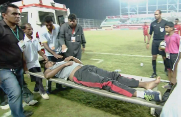 I-League 2017-18: Churchill Brothers' physio suffered a seizure attack during NEROCA game