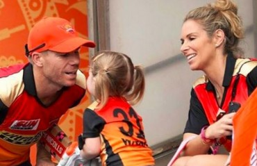 WATCH: David Warner's daughter dance to Sunrisers Hyderabad's anthem