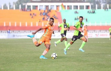 I-League 2017-18: Kallon propels NEROCA to the summit with win over Gokulam Kerala