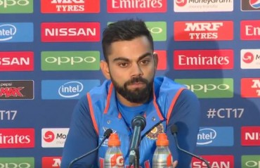 Was cramping towards the end but enjoyed my stand with Shikhar and Bhuvi, says Kohli