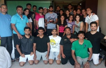 WATCH: Fellow shuttlers and friends help make Srikanth's birthday a day to remember