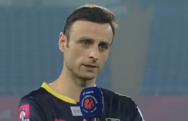 WATCH: Berbatov talks about scoring his first ISL goal & the overall match vs ATK