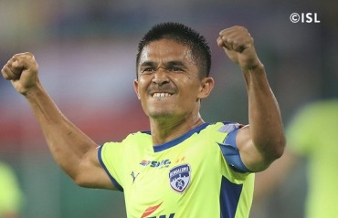Sunil Chhetri -- the hungry striker!