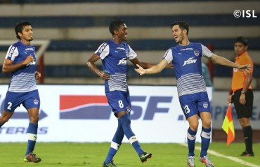ISL 2017-18: Bengaluru FC book playoff berth after routing of FC Goa
