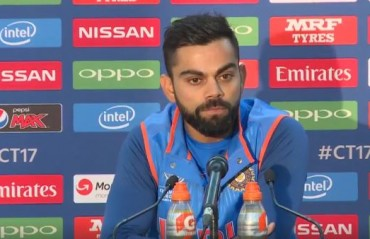 Only South Africa had the pressure of losing the ODI series, says Kohli
