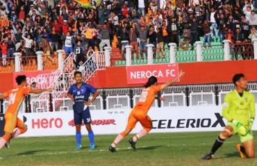 I-League 2017-18: William's late strike for NEROCA spices up the title race