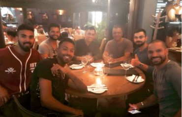 WATCH: Raina shares team dinner picture after first T20I win against SA