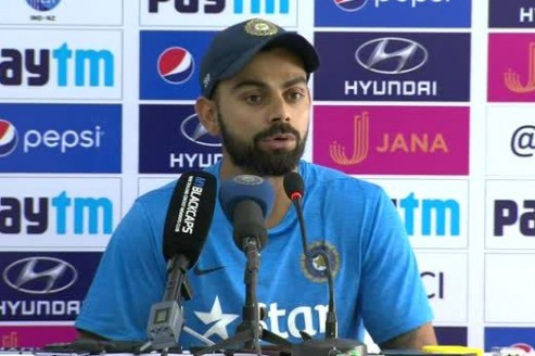 Captain's message: Kohli asks team members to enjoy every game before leaving SA