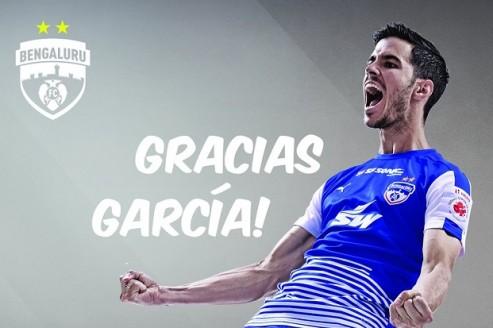 ISL 2017-18: Garcia bids goodbye to BFC; fans & club bids a emotional farewell via social media posts