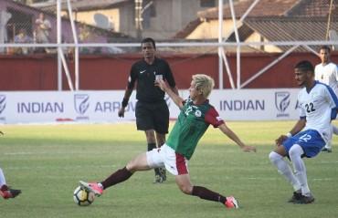 I-League 2017-18: Arrows crumble to Mohun Bagan's superior performance