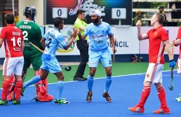 Indian Men's Hockey Team draw 1-1 against England