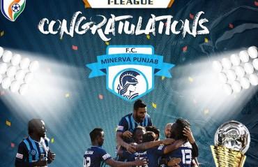 I-League 2017-18-- Minerva Punjab FC are champions