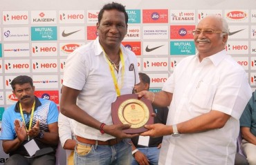 I-League 2017-18: Gokulam Kerala FC felicitated former Indian footballers from the state