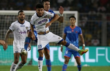 ISL 2017-18: Chennaiyin FC steal crucial away goal from FC Goa in first leg of the semi-final