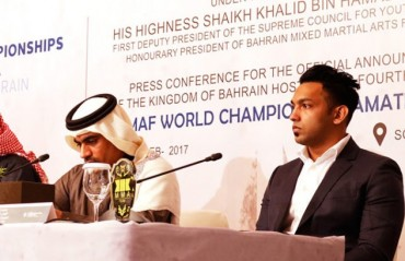 IMMAF World Championships: Bahrain to host the event in 2018 and 2019
