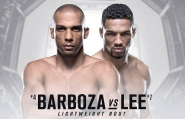 UFC Atlantic City: Edson Barboza and Kevin Lee to  Headline the event