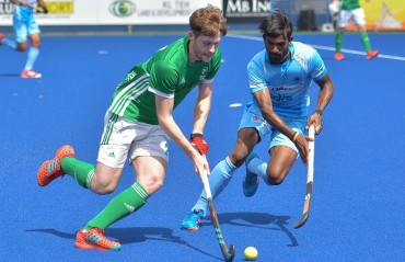 Indian Men's Hockey Team beat Ireland 4-1