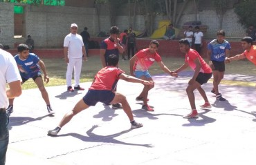 Kabaddi aspirants in Delhi showcase talent at the future kabaddi heroes programme