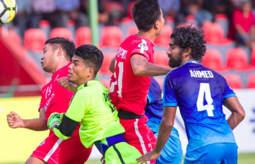 MATCH REPORT: Ten man Aizawl FC lose to New Radiant away in AFC Cup debut