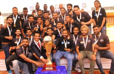 I-League 2017-18: Minerva Punjab FC presented the I-League trophy