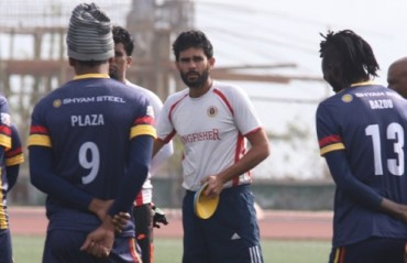 Khalid Jamil has stayed away from practice sessions after Bhowmick's arrival