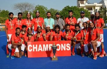 Hockey Punjab crowned Champions of 8th Hockey India Senior Men National Championship 2018