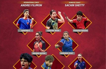 Dabang Smashers TTC's new squad gears-up to serve for the title in the second edition of CEAT Ultimate Table Tennis