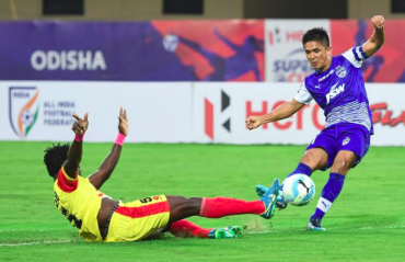 Hero Super Cup -- Bengaluru survive Gokulam scare thanks to last minute winner from Udanta