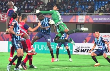 Hero Super Cup -- Thrilling penalties see Jamshedpur FC knock out Minerva Punjab