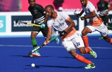SV Sunil stars in Indian Men's Hockey Team's 4-3 win against Wales