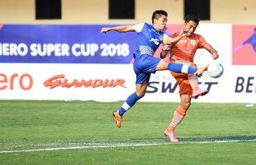 Super Cup: Chhetri hattrick knocks NEROCA out to make it to the semis