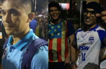 Joy and Banter: WATCH Sunil Chhetri and away fans react to Bengaluru FC's Super Cup victory