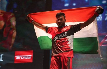 Indian MMA: Bharat Kandare to make UFC return  At UFC 227, will fight Wuliji Buren