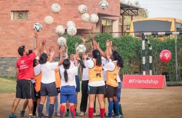 Delhi Dynamos reaches out to over 25,000 Kids in Grassroots Programme