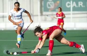 Spain defeat Indian Women's Hockey Team 3-0 in first match