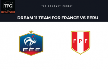 World Cup Fantasy Football- Dream 11 tips for France vs Peru