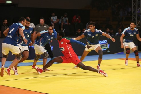 Kabaddi Masters: India beat inexperienced Kenya 48-19.