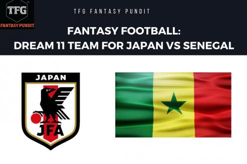 World Cup Fantasy Football- Dream 11 tips for Japan vs Senegal -- Jap vs Sen