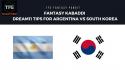 Fantasy Kabaddi: Dream11 tips for Argentina vs South Korea