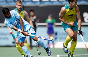 Indian Men's Hockey Team lose 2-3 to Defending Champions Australia