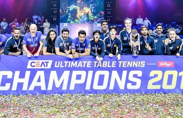 Dabang Smashers Clinch Title In The Second Edition Of CEAT Ultimate Table Tennis