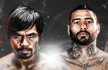 "DSPORT to Broadcast eagerly awaited ""Battle of the Champions"" Pacquiau vs Matthysse Welterweight Championship for Indian Viewers."