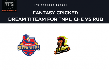 Fantasy Cricket: Dream11 tips for TNPL -- Chepauk Super Gillies vs Ruby Trichy Warriors