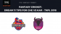Fantasy Cricket: Dream11 tips for TNPL -- Chepauk Super Gillies vs Karaikudi Kaalai