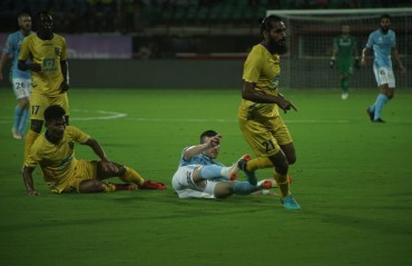 Melbourne City FC humble Kerala Blasters FC in the opening match of the Toyota Yaris LaLiga World