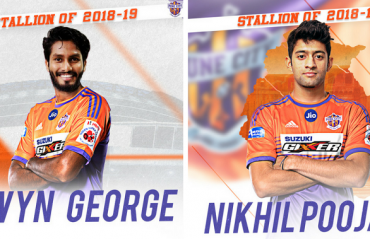 Alwyn George and Nikhil Poojari joins FC Pune City