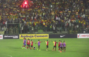 WATCH FULL MATCH -- East Bengal get first CFL win by beating Police AC 2-0