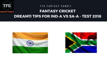 Fantasy Cricket: Dream11 tips for 2nd Test-- India-A v South Africa-A