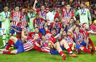 Atletico Madrid came from behind to beat Real and lift the UEFA Super Cup