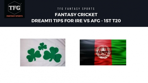 Fantasy Cricket: Dream11 tips for 1st T20-- Ireland v Afghanistan